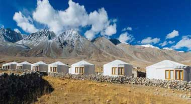 Camps In Pangong