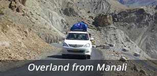 Overland from Manali